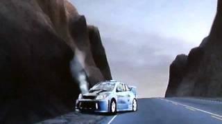 NfS Prostreet spectacular Cobalt crash at Nevada
