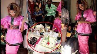 Regardez comment Kiné a fêté son anniversaire avec les acteurs de la série Pod et Marichou