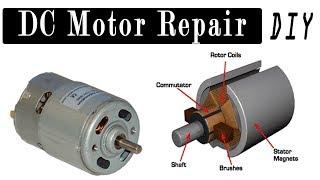DC Motor Repair | How to Repair DC Motor? 6V, 9V, 12V, 24 Volt