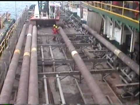 Araya-Margarita Offshore Gas Pipeline Laying / Tendido de ga