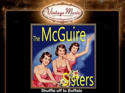 THE McGUIRE SISTERS Vocal Jazz. Shuffle Off To Buffalo
