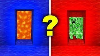 KTÓRE DRZWI WYBIERZESZ?! | Minecraft: Would You Rather