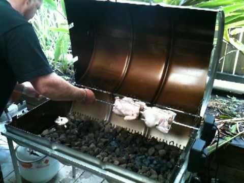 Part 2 Of 4 How To Cook Lechon Manok Spit Roast Chicken