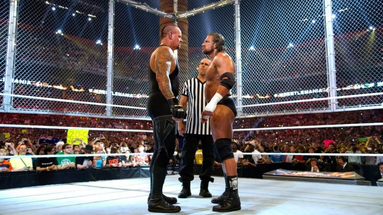 The Undertaker vs. Triple H - End of an Era Hell in a Cell Match ...