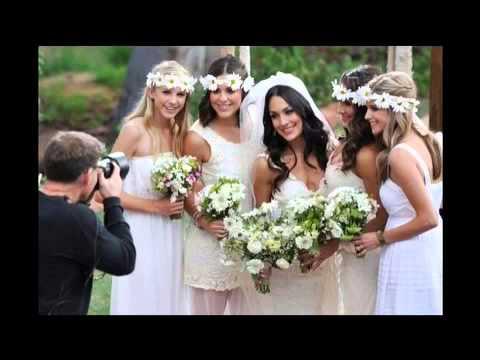 Daniel Bryan And Brie Bella Wedding Slideshow
