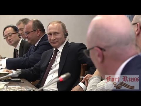 """Putin on Brexit: """"Anything I say will be manipulated"""""""