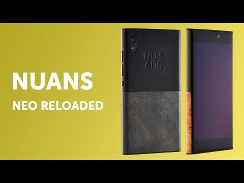 NuAns Neo Reloaded - дизайнерский смартфон из Японии