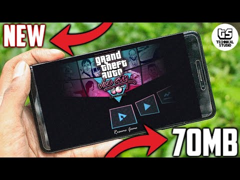 [70MB] How To Download GTA Vice City Highly Compressed Android 2018