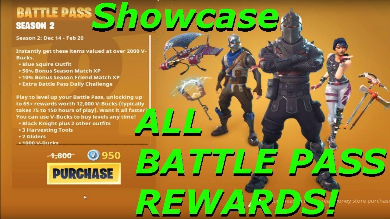 all battle pass rewards fortnite battle royale season 2 - season 2 battle pass fortnite skins