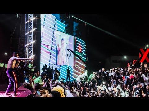 Wizkid #MadeInLagos Shutdown Festival - Live Stream   Powered by XChange.NG