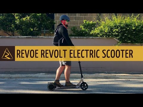 Revoe Revolt Electric Foldable Scooter - Unboxing and Review - DECATHLON
