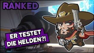 Er testet die Helden?! • Overwatch 3-Stack Ranked