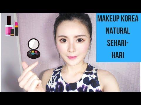 cara makeup natural sehari hari ala korea (step by step)