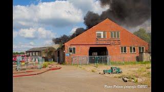 Brand bij voormalige Bodewes w…
