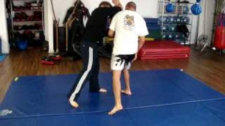 Old Style Muay Thai: Donnie B. Street Defense Against a Haymaker Punch