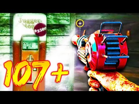 MY HIGHEST ROUND EVER IN ZOMBIES!! // ROUND 115! // CALL OF DUTY ZOMBIES! thumbnail