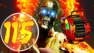 ROUND 115! // MY HIGHEST EVER SOLO! // CALL OF DUTY ZOMBIES!