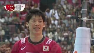 JAPAN vs ITALY Highlights Men's Volleyball World Cup 2019. Nguồn TITANS