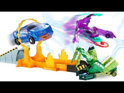 Машинки Трансформеры - Игры гонки Диких Скричеров! - Видео Челлендж.