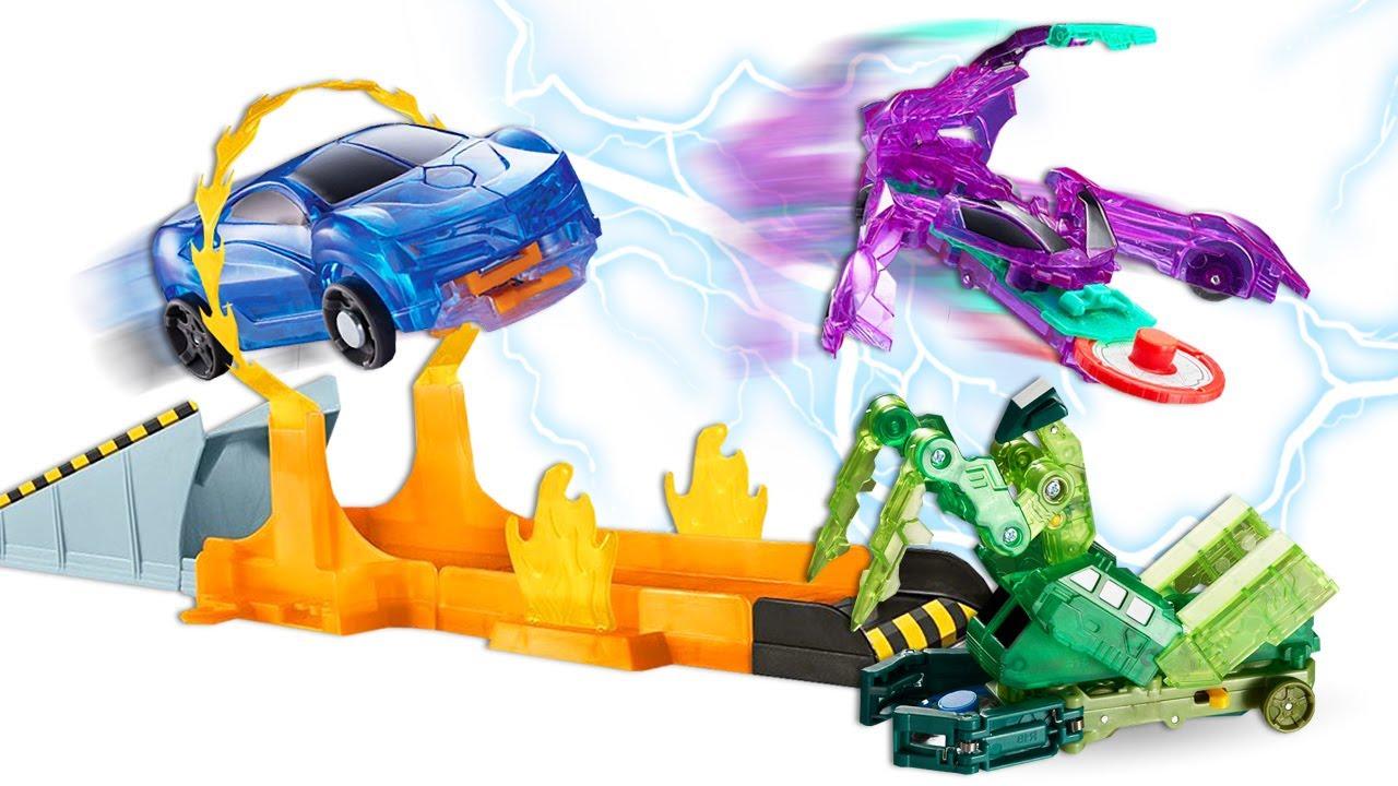 Машинки Трансформеры - Игры гонки Диких Скричеров! - Видео Челлендж для детей.