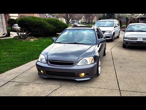 My New Car! | B18B1 Swapped Moon Rock Civic