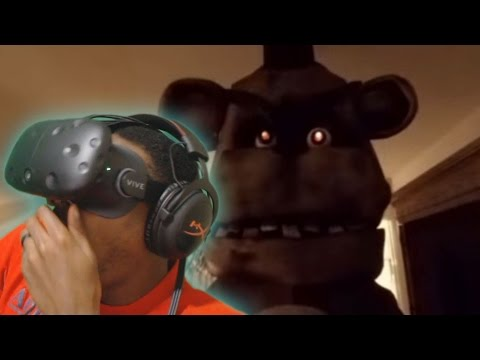 360 | Five Nights at Freddy's HTC Vive VR REACTION ( FNAF )