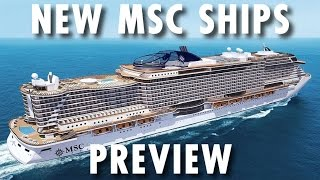 Seaside and Vista Projects Preview ~ MSC Cruises ~ New Cruise Ships