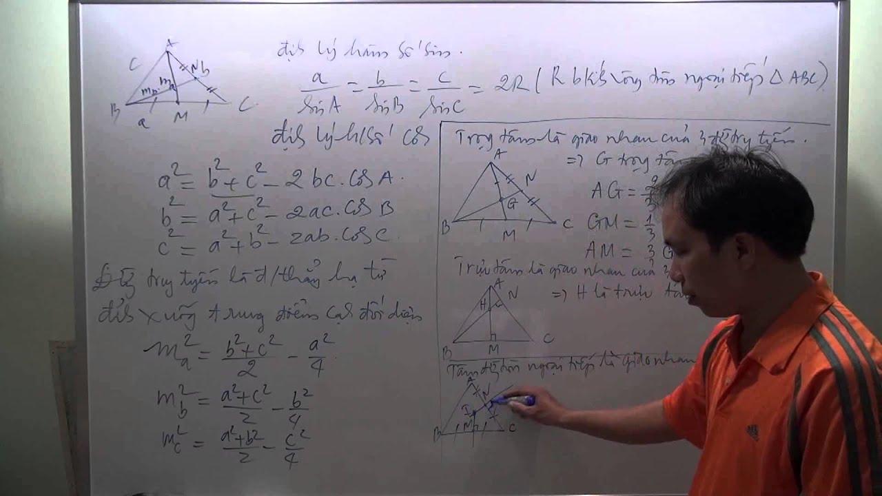 [Toán cấp 2] Ôn tập hình học lại từ đầu cho tất cả các học sinh rất kỹ Thầy Nguyễn Văn Cam