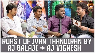 Rj Balaji & Rj Vignesh together for Ivan Thanthiran | Settai Sandhai | Smile Settai