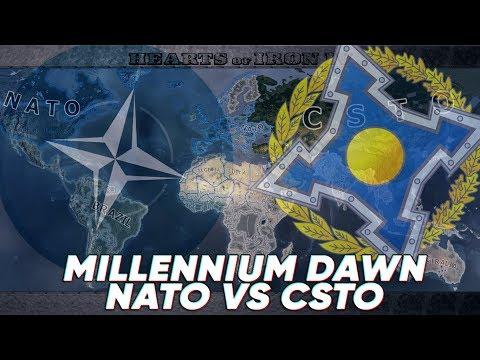 Hearts of Iron IV Timelapse - Millennium Dawn - NATO vs CSTO