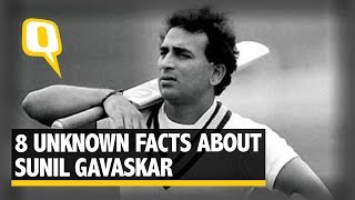 8 Unknown Facts About Sunil Gavaskar - The Quint