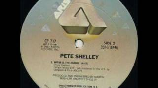 Pete Shelley - Witness The Change.wmv