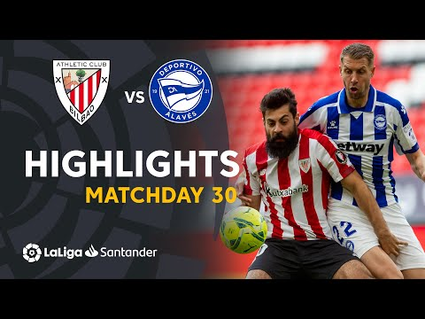 Ath. Bilbao Alaves Goals And Highlights