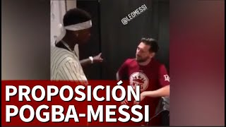 La proposición de Pogba a Messi en su encuentro en Dubai | Diario AS