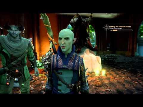 Dragon Age™: Inquisition: Lion's Pavilion 4 torches puzzle