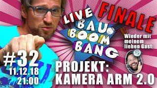 Projekt Finale!! Live Projekt Bau mit der gesamten Community um 21 Uhr! Kamera Boom!