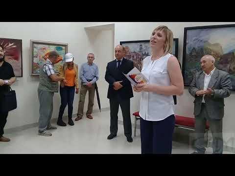 """Открытие выставки """"Осень-2017""""."""