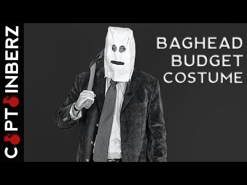 """Baghead"" from The Strangers: Budget Halloween Costume!"