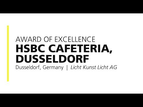 HSBC Cafeteria, Dusseldorf – 2018 Award of Excellence - YouTube
