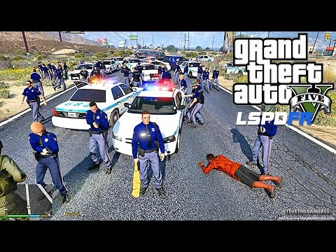 GTA 5 LSPDFR 0.3.1 - EPiSODE 97  - LET'S BE COPS - COUNTY PATROL (GTA 5 PC POLICE MODS)