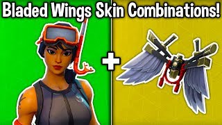 5 BEST 'BLADED WINGS' SKIN + BACKBLING COMBOS in Fortnite! (Shogun Skin Combinations)