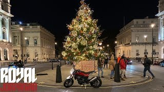 London Lights on Husqvarna Nuda 900R