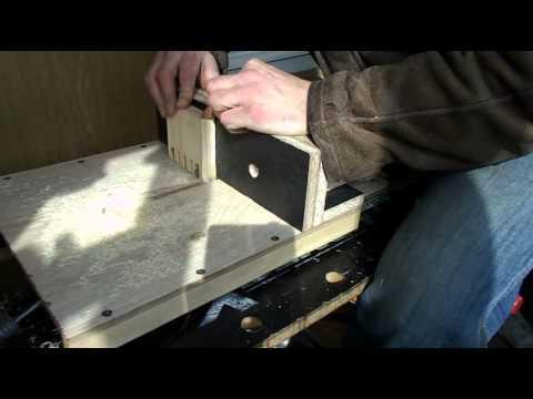 видео: Ящичные шипы и фрезер Фиолент