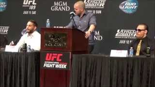 'The McGregor Show' - Best of UFC 189 Press Conference