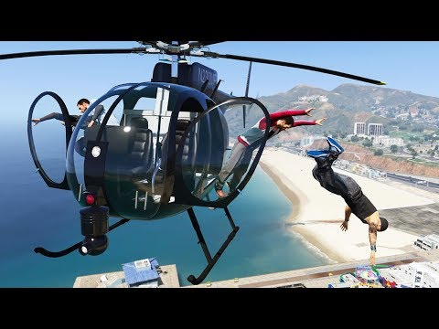 GTA 5 Epic Ragdolls Episode 25 (Euphoria Showcase)