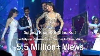 Salman Khan & Katrina Kaif Dazzling Performance In DaBangg Reloaded - Chicago