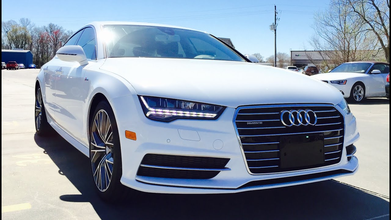 2016 audi a7 white. 2016 audi a7 prestige s line 30t quattro tiptronic full review exhaust start up short drive youtube white d