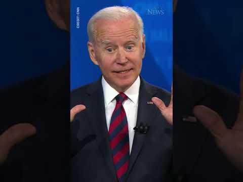 """""""I don't care if you think I'm Satan reincarnated"""": Biden #shorts"""