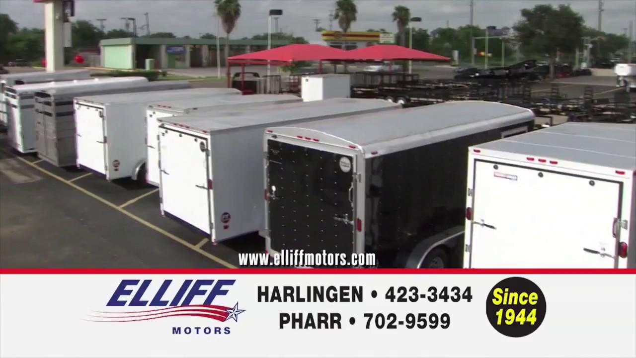 Elliff trailers youtube for Elliff motors harlingen tx