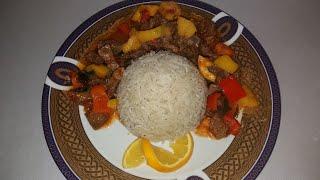 рис с подливой